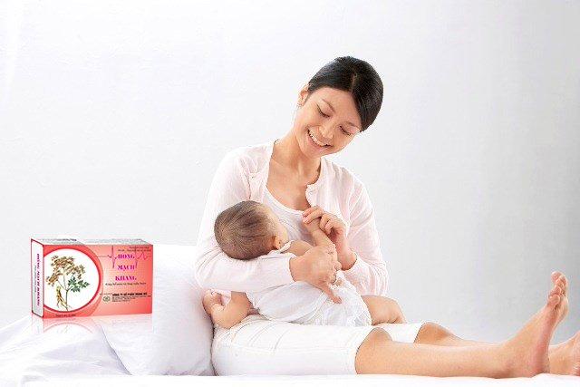 Hồng Mạch Khang là giải pháp toàn diện cho phụ nữ sau sinh